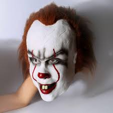 scary mask scary it clown mask times
