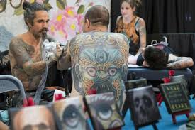 scenes from the third annual israel tattoo convention