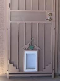 Exterior Pet Door Installing Exterior Door With Built In Pet Door Door