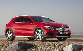 bmw jeep red mercedes gla review better than a bmw x1