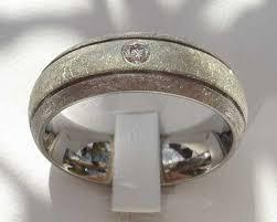 titanium wedding rings uk gold inlaid diamond titanium wedding ring online in the uk
