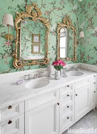 bathroom with wallpaper ideas 70 best bathroom colors paint color schemes for bathrooms