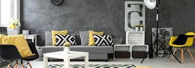coussin sur canap gris salon gris jaune salon avec canapac gris et coussin jaune tbw