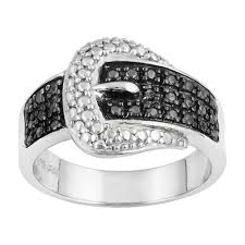 Black And Pink Wedding Rings by Unique Black Diamond Wedding Rings The Wedding Specialiststhe