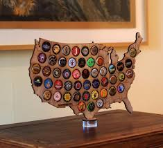Beer Map Usa by Usa Desktop Beer Cap Map U2013 Beer Cap Maps