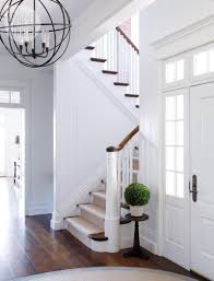 New England Style Homes Interiors by Design Solutions For Your Foyers Stairs And Hallways Style At Home