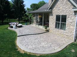 patio ideas stamped concrete pool patio pictures stamped