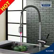 kitchen gooseneck automatic faucet china kitchen led light kitchen faucet led light kitchen faucet suppliers and