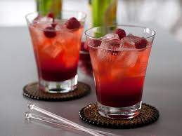 spicy raspberry lemon cooler recipe hgtv