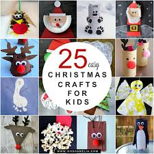 25 easy christmas crafts for kids oh so amelia