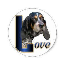 bluetick coonhound decals cute bluetick coonhound gifts on zazzle