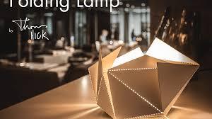 folding lamp by thomas hick u2014 kickstarter