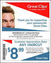 haircut specials at great clips jacksonville journal courier business directory coupons