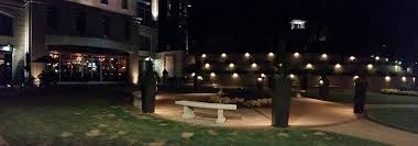 greenville led commercial outdoor lighting takes outdoor dining to