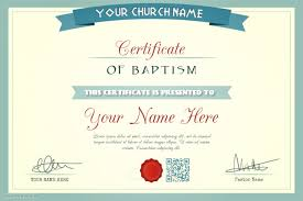 Appointment Certificate Template | church certificate template baptism wedding appointment