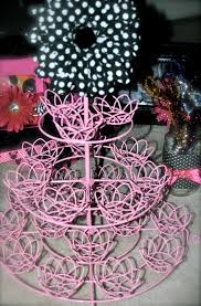 day 55 get crafty minnie mouse birthday party easy decor flower