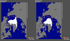 Record by Arctic Sea Ice Extent Breaks 2007 Record Low Arctic Sea Ice News