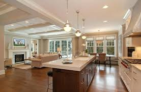 kitchen sitting room ideas open concept kitchen floor plans living room and dining open concept