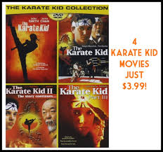 great dvd deal four karate kid movies for 4