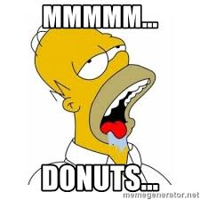 Doughnut Meme - mmmmm donuts homer simpson drooling meme generator