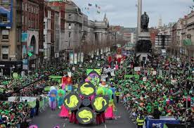st s day parade pictures and from belfast dublin