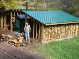 Backyard Wood Sheds by 115 Best Fire Wood Storage Sheds Etc Images On Pinterest
