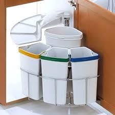 rangement poubelle cuisine meuble cache poubelle cuisine poubelle rotative a tri saclectif pour