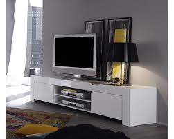 Meuble Tv Longueur Maison Et Mobilier D Intérieur Meuble Tv 2 Portes Sydney Blanc Laqué Maison Et Mobilier D