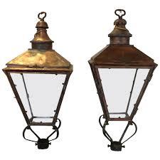 pair of 19th century english street lanterns modern lanterns