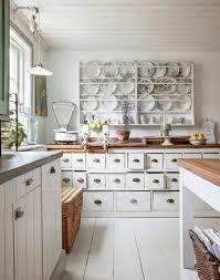 vintage kitchen decor ideas kitchen design pictures large square white stained dresser vintage