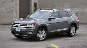 volkswagen atlas seating 2018 volkswagen atlas test drive review