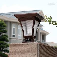 Solar Powered Gate Lights - 2017 ultra bright led solar powered led lamppost wall lamps