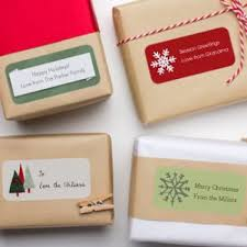 personalized christmas gift labels tinyme
