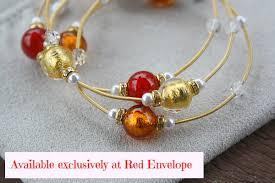 murano glass bead bracelet images Valentine 39 s day gift idea murano glass bead bracelets from red jpg
