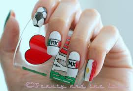 mexican nail designs choice image nail art designs
