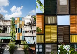 vietnam u0027s vegan house is covered from top to bottom in vibrantly