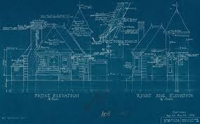 create blueprints the cyanotype process was used to create large reproductions of