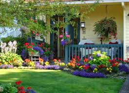 Home Front Yard Design - april 2014 outdoor landscaping ideas