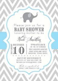 elephant baby boy shower invitations u2013 frenchkitten net
