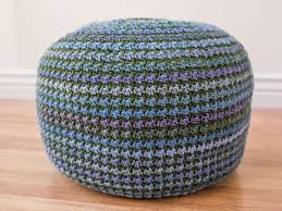 Crochet Ottoman Pattern Crochet Pouf Pattern Crochet Pillow Pattern Crochet Pattern