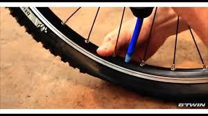 réparer une chambre à air de vélo vidéo notice btwin liquide anti crevaison chambre à air