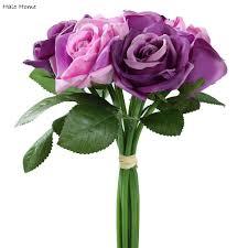 online get cheap purple artificial flowers aliexpress com