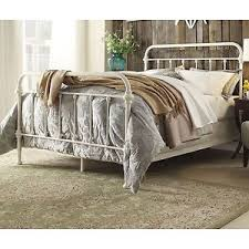 Antique White Metal Bed Frame Antique White Iron Metal Bed Frame Set Size
