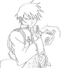 roy mustang lineart by marine sista1990 on deviantart