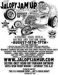 Sho Jamur jalopy jam up weekender 2017 garage no 7