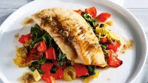 ricardo cuisine concours poisson légumes rôtis et beurre noisette aux câpres et aux