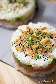 fan de cuisine les 25 meilleures idées de la catégorie riz sushi sur