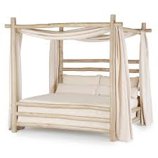 Rustic Bed Rustic Canopy Bed 4086 4092 La Lune Collection