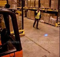 blue warning lights on forklifts china single blue spot point warehouse safety warning light for