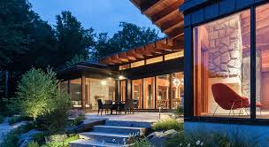 the muskoka cottage won for best project in the open category at